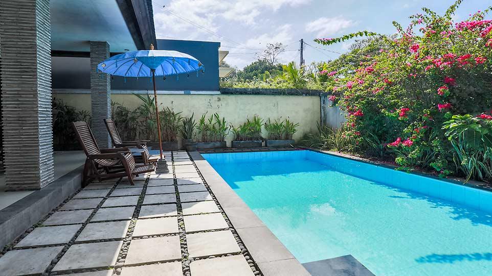 Bunk beds villa at Eat Sleep Skate Bali