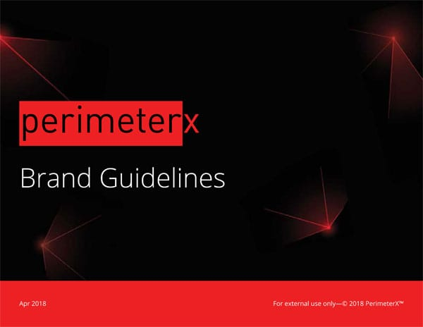 PerimeterX Brand Guidelines Document