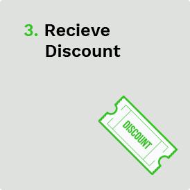 Receive Discount