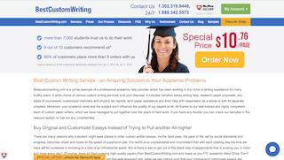 bestcustomwriting.com main page