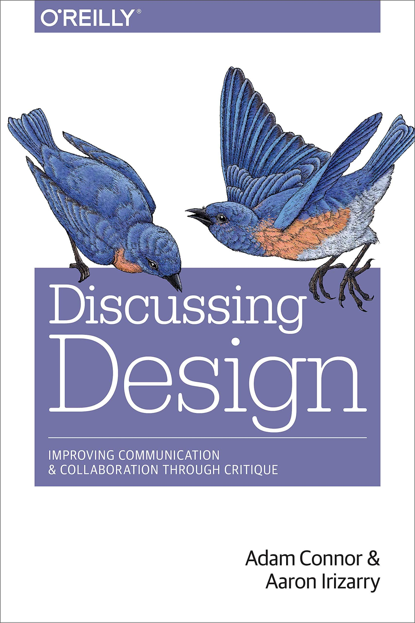 The cover of Discussing Design