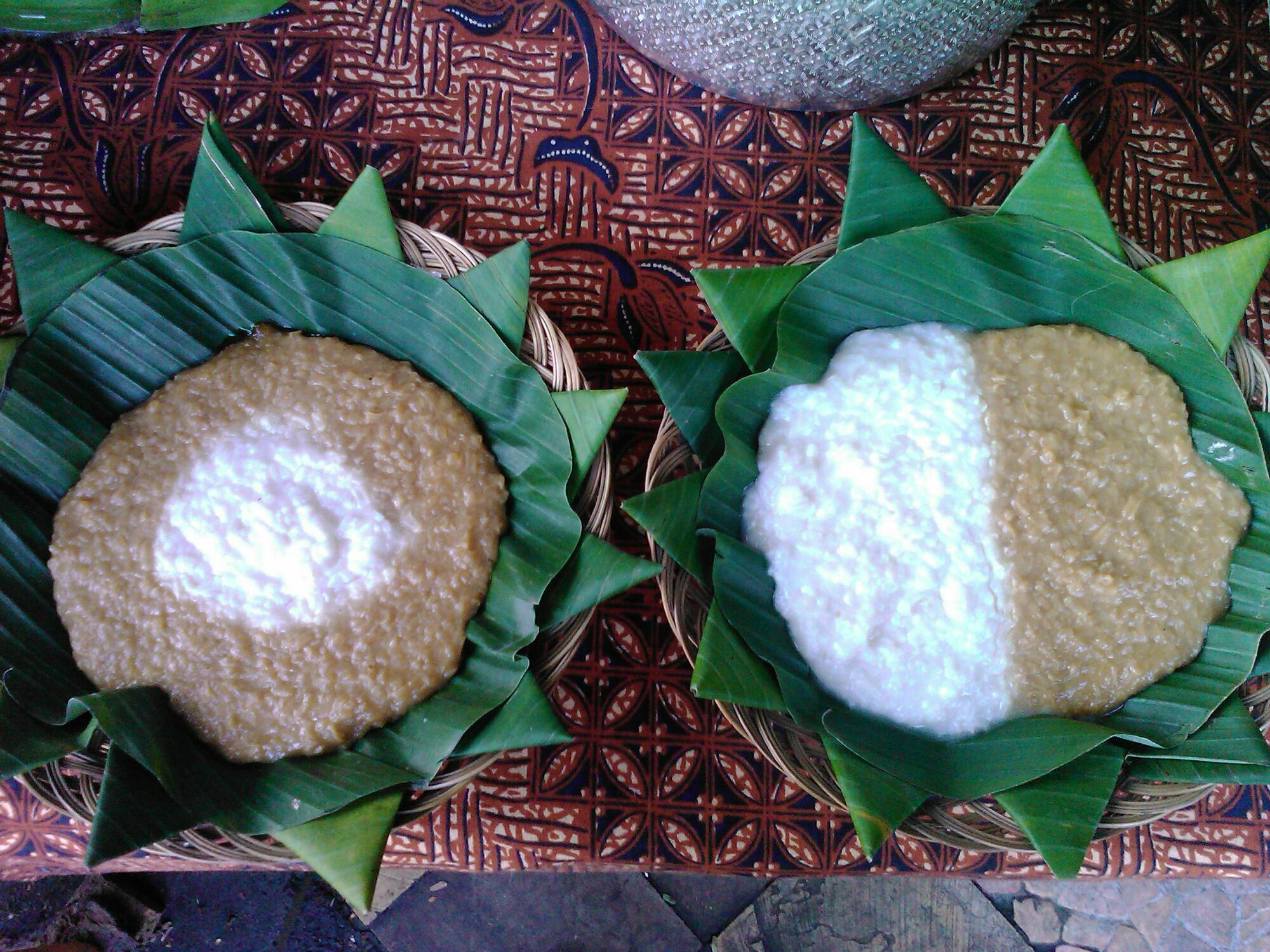 Resep Bubur Merah Putih khas Jawa & Tips Trik Beserta Penjelasanya