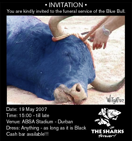 Invitation to The Bulls' Funeral
