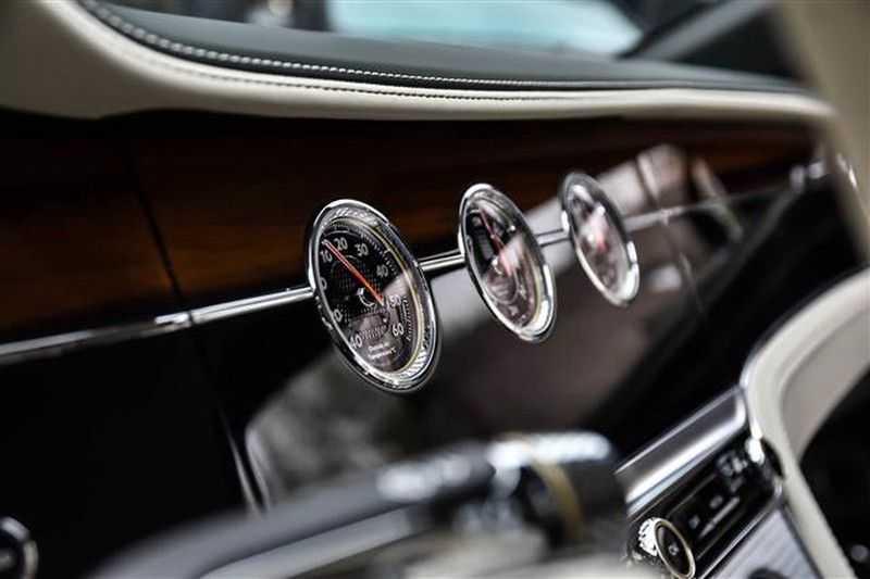Bentley Continental GT W12 MULLINER MASSAGE+HEADUP+TOPVIEW afbeelding 8