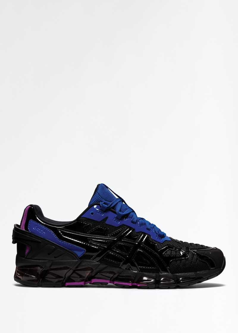 ASICS by GmbH Gel Quantum 360 Orchid Black Blue Right Foot