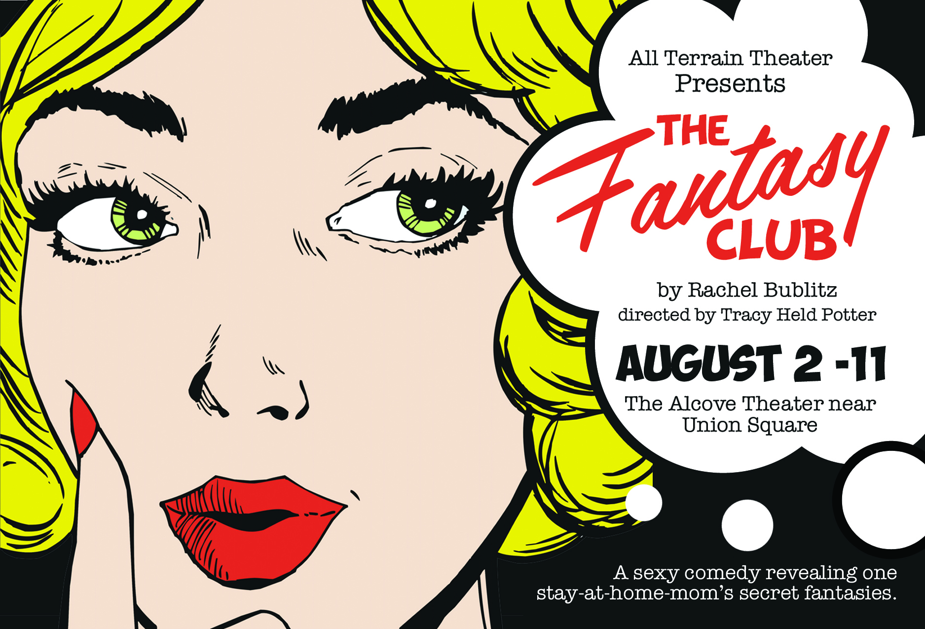 Postcard for THE FANTASY CLUB.