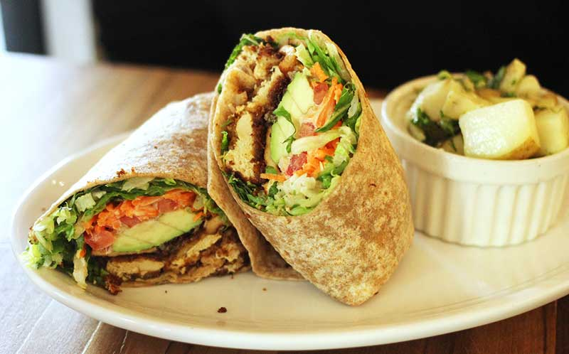 club wrap from Native Foods