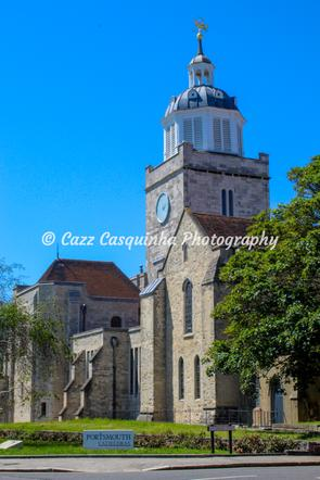 Portrait Image of Portsmouth Cathedral, Southsea