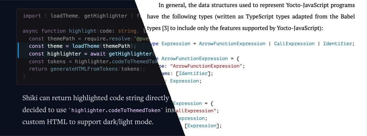 Using Shiki Highlighter Plugin for Gridsome