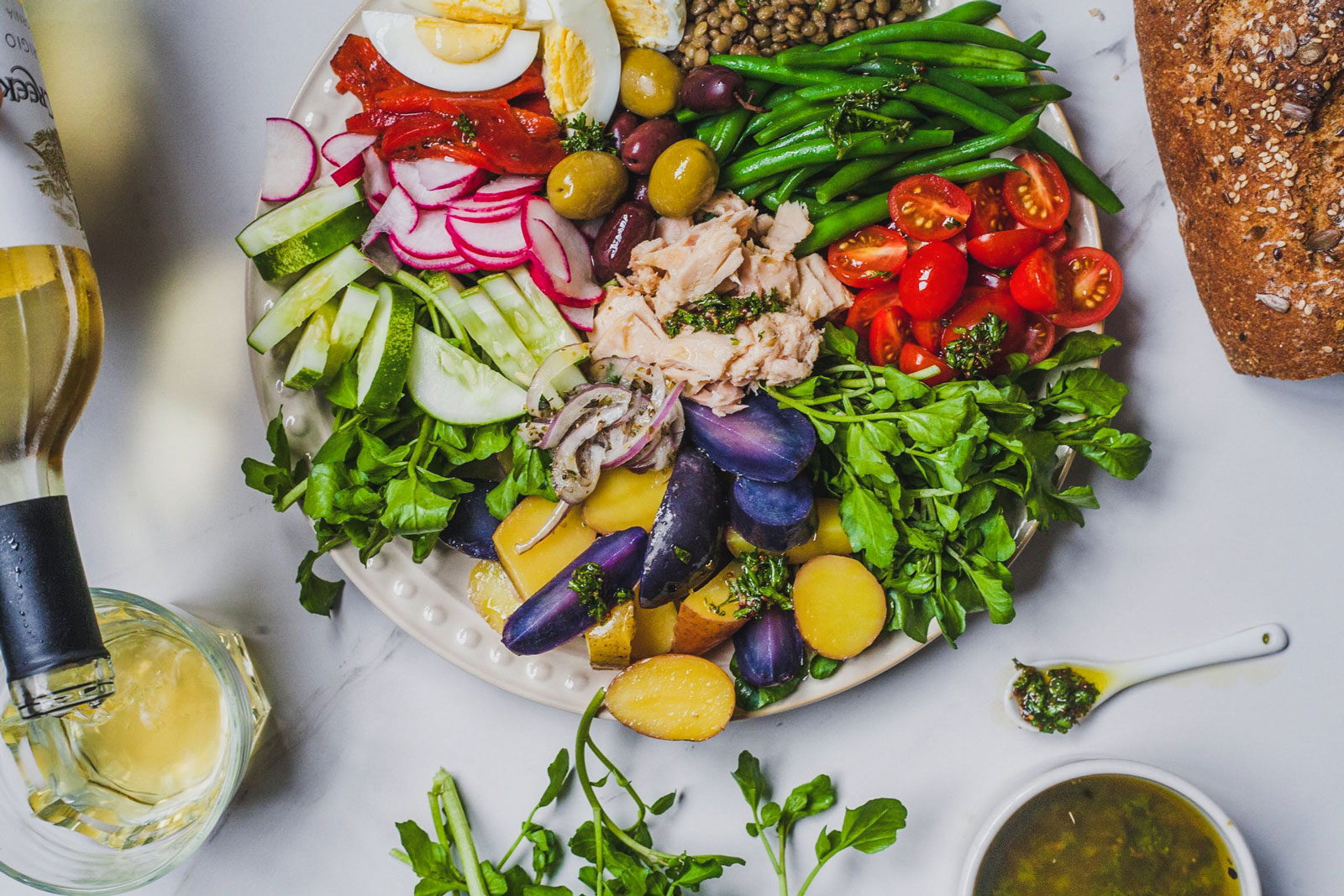 Classic Niçoise salad – a little piece of the south of France on a plate