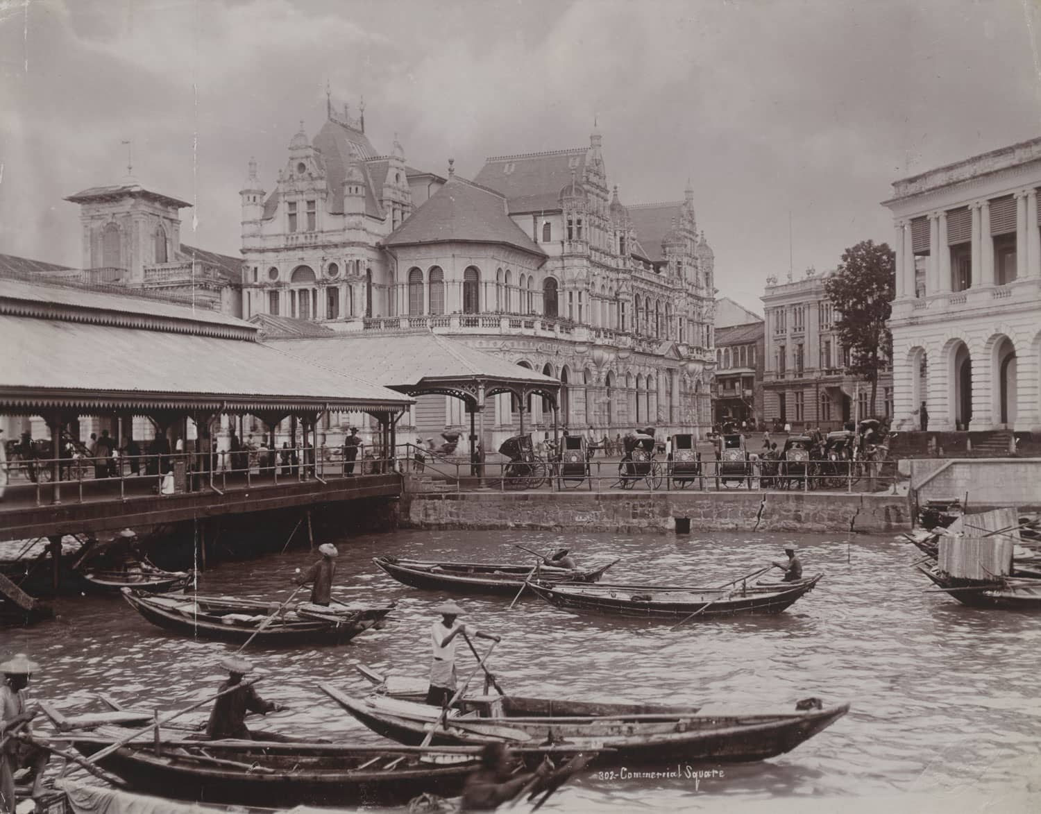 Commercial Square, 1900s
