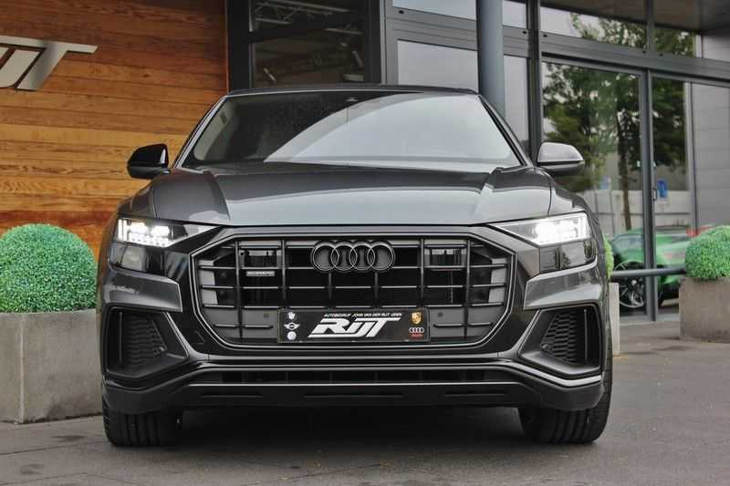 Audi Q8 50 TDI Quattro 3x S-Line 3.0 V6 286pk **HUD/Luchtvering/ACC/Elek.Trekhaak/B&O/Matrix.LED** afbeelding 17