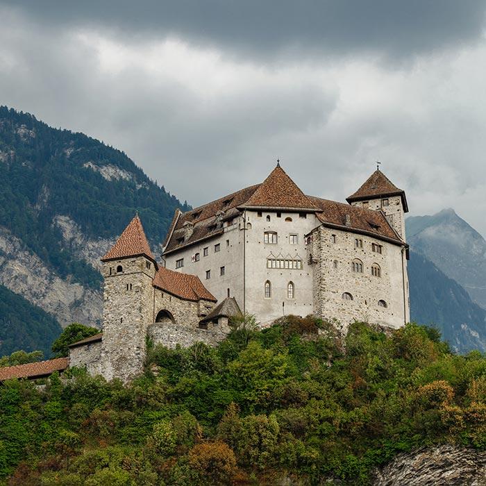 Burg Gutenberg, Liechtenstein