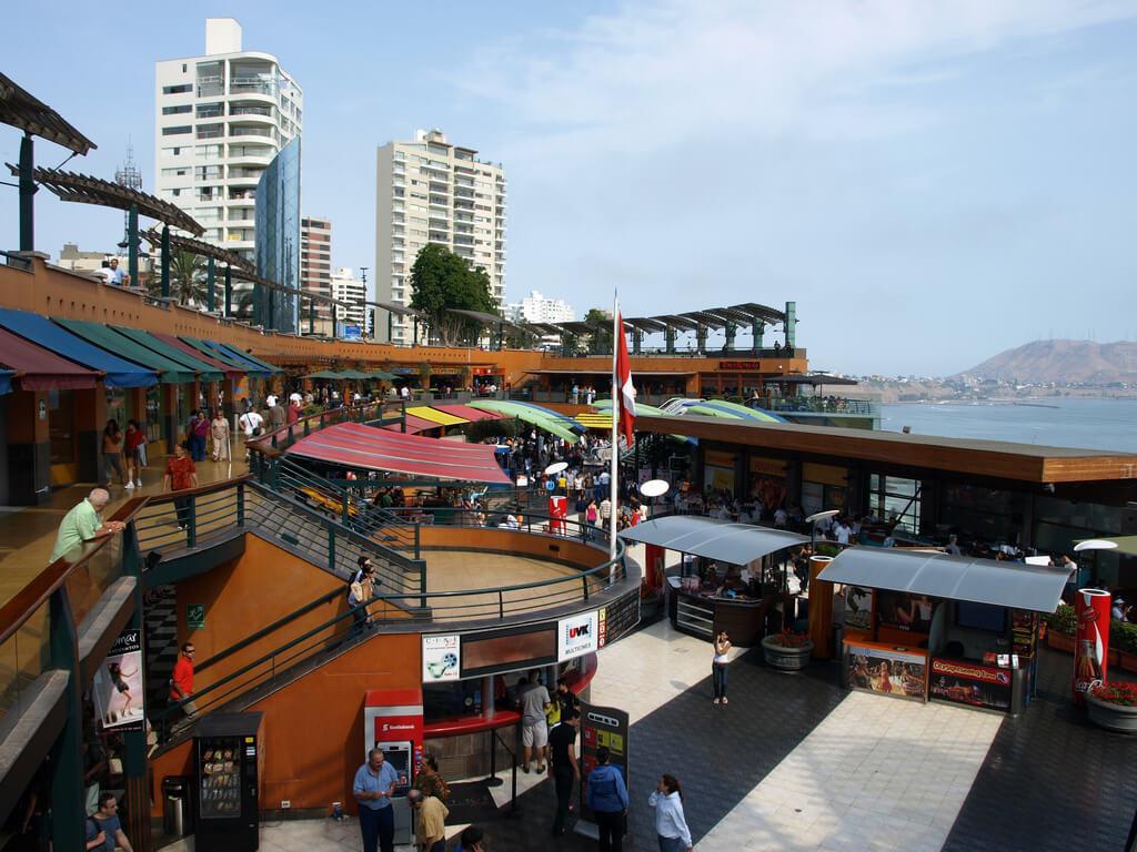 Larcomar Shopping center, lima