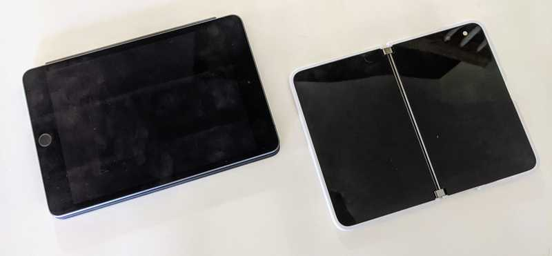 ipad mini vs surface duo