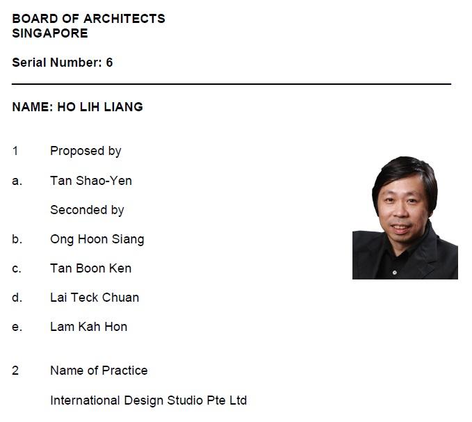 Ho Lih Liang