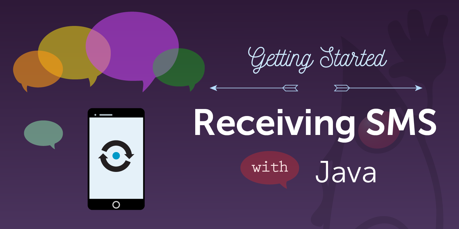 How to Receive SMS Messages with Java