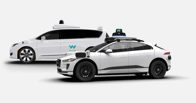 Photo credit: Waymo self-driving cars