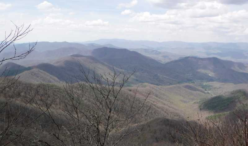 View from Cheoah Bald