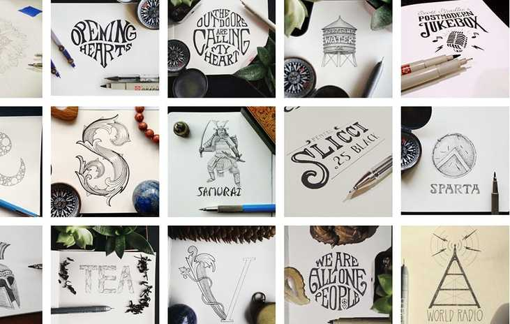 My Best Hand Lettering and Sketches of 2016