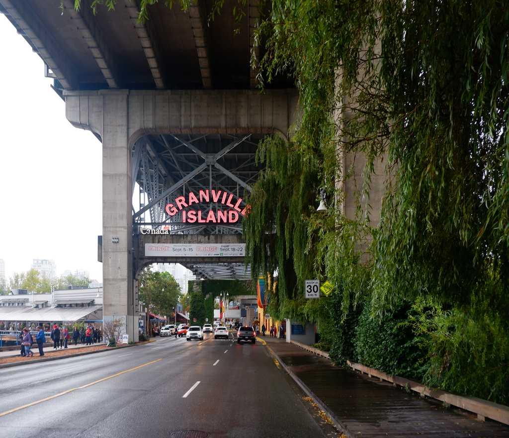 Granville Island Sign Vancouver