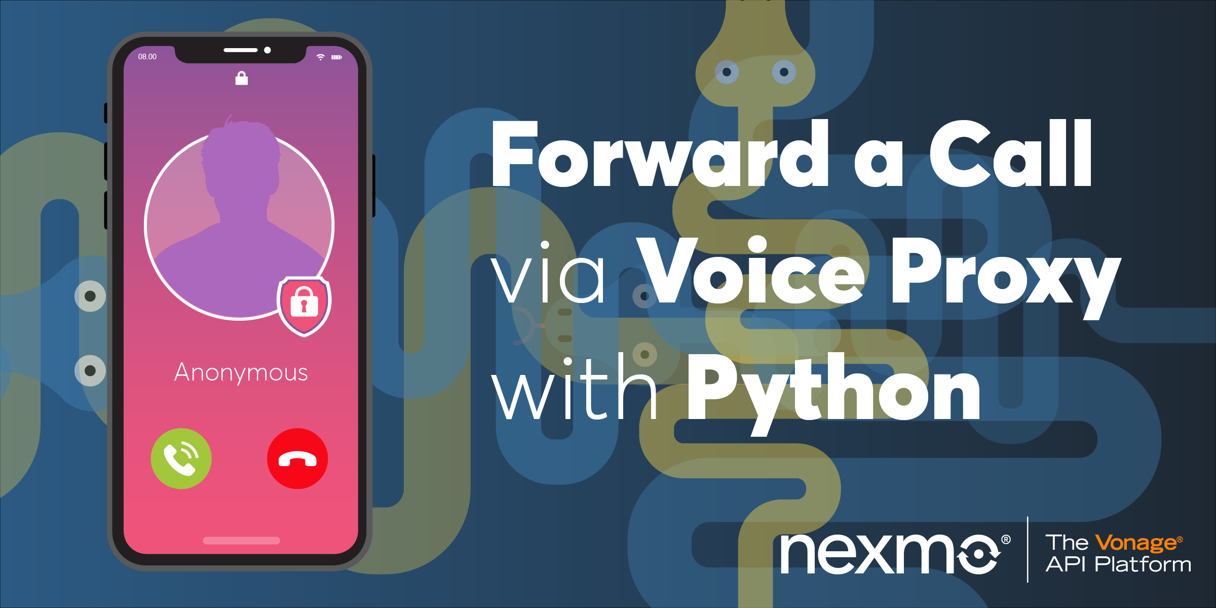 Forward a Telephone Call Via Voice Proxy with Python and Starlette