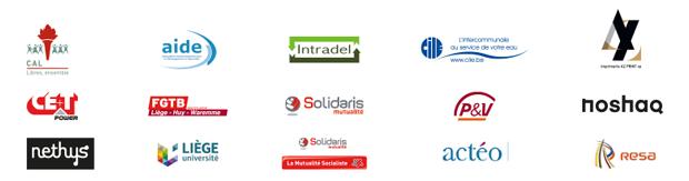 Pavé des sponsors de la Fondation Cité Miroir - partie 1