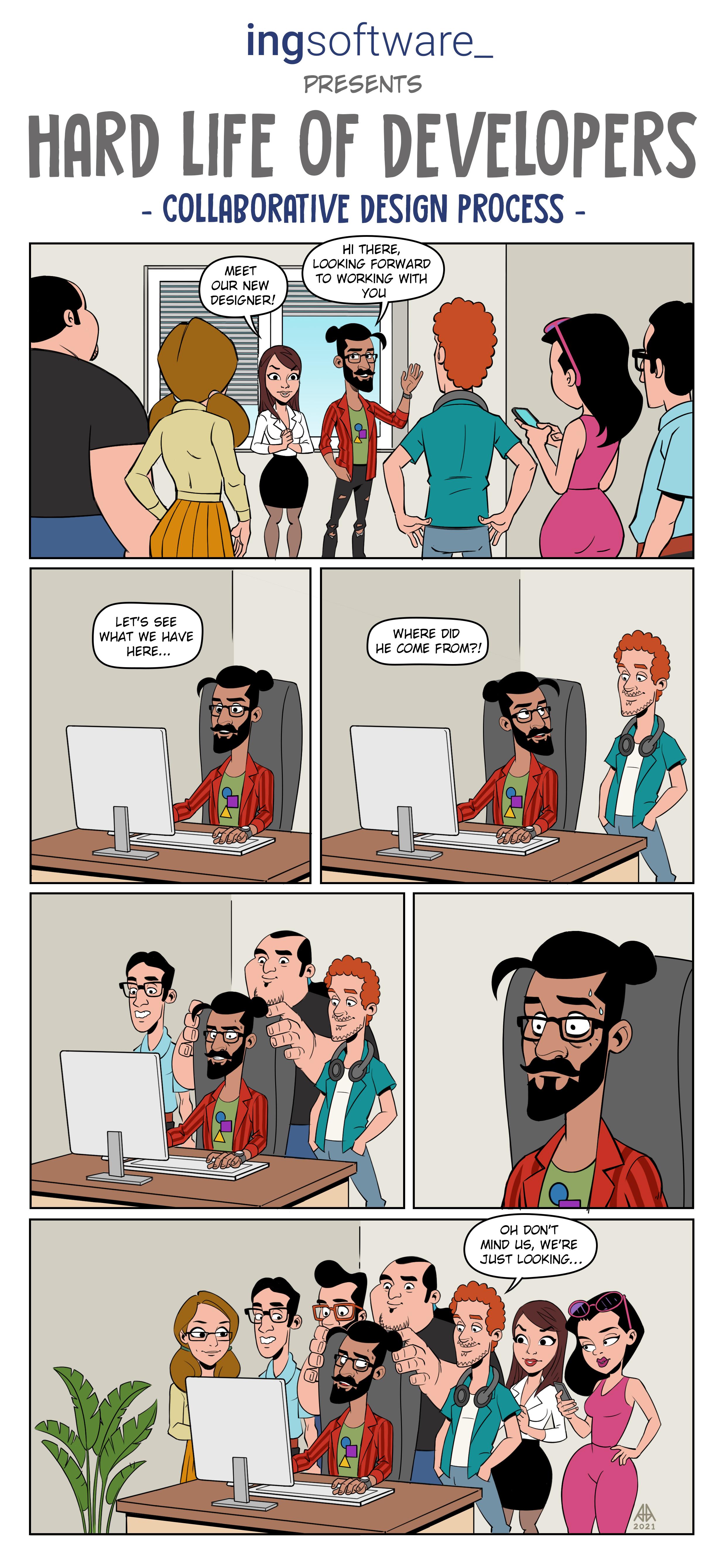 web comic page 9