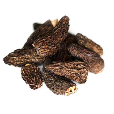 Dried Black Morel Mushrooms