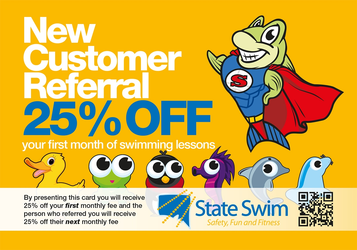 State Swim Referral Card 2