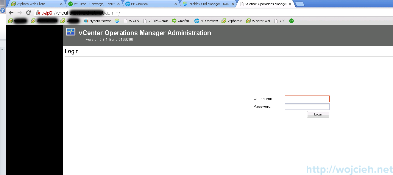 Mware vRealize Operations Manager - Configuration 2