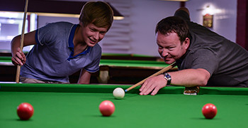 Snooker at Potters Resort