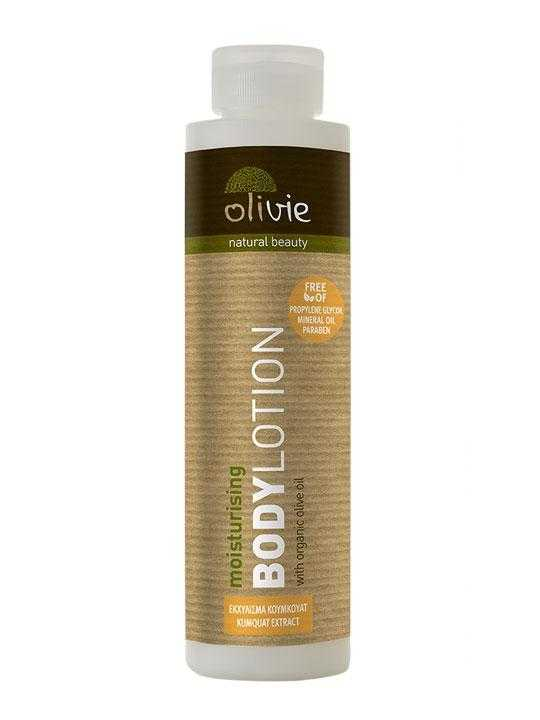 Body lotion with kumquat and organic olive oil – 200ml