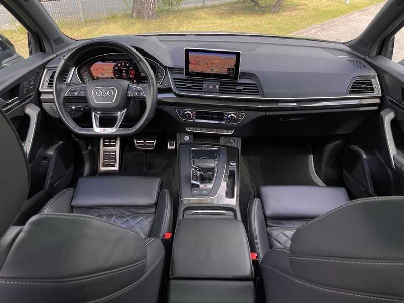 Audi SQ5 3.0TFSI 354pk Quattro Black Optic Lucht HUD Standk B&O Pano Ruitleder Tr.Haak ACC afbeelding 17