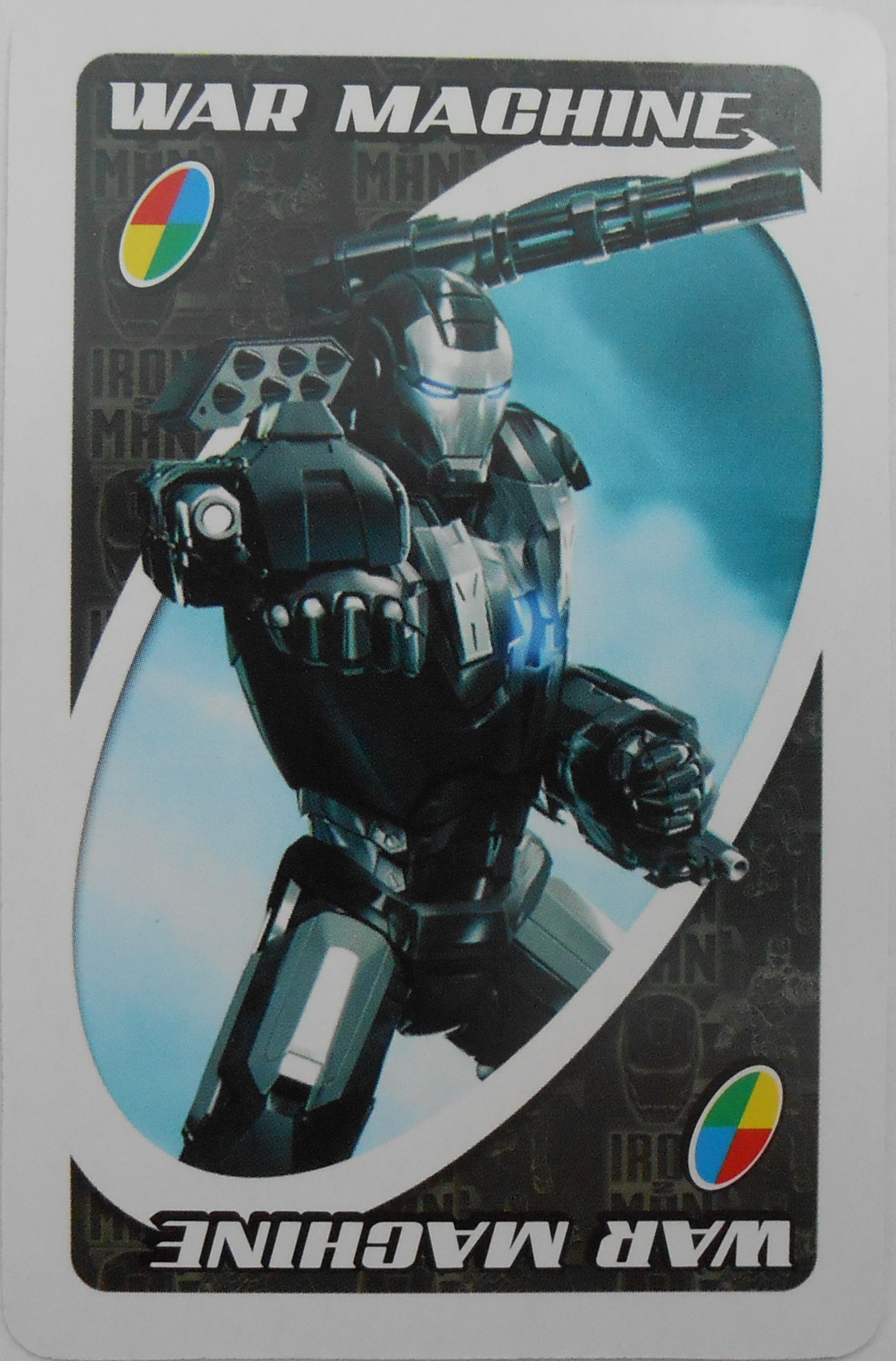 Iron Man 2 Uno (War Machine Card)