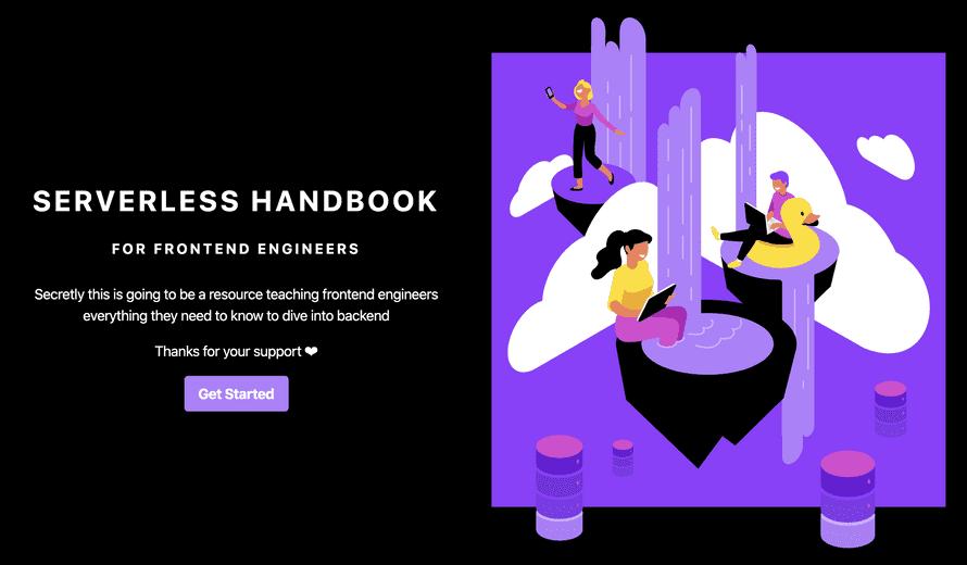 Serverless Handbook cover