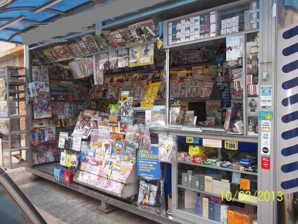 Banca de jornal e o preço alto das HQs