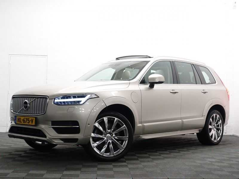 Volvo XC90 2.0 T8 Twin Engine 320pk AWD Inscription Aut- 7 Pers, Pano, Leer, Camera, Head-up, Full! afbeelding 24