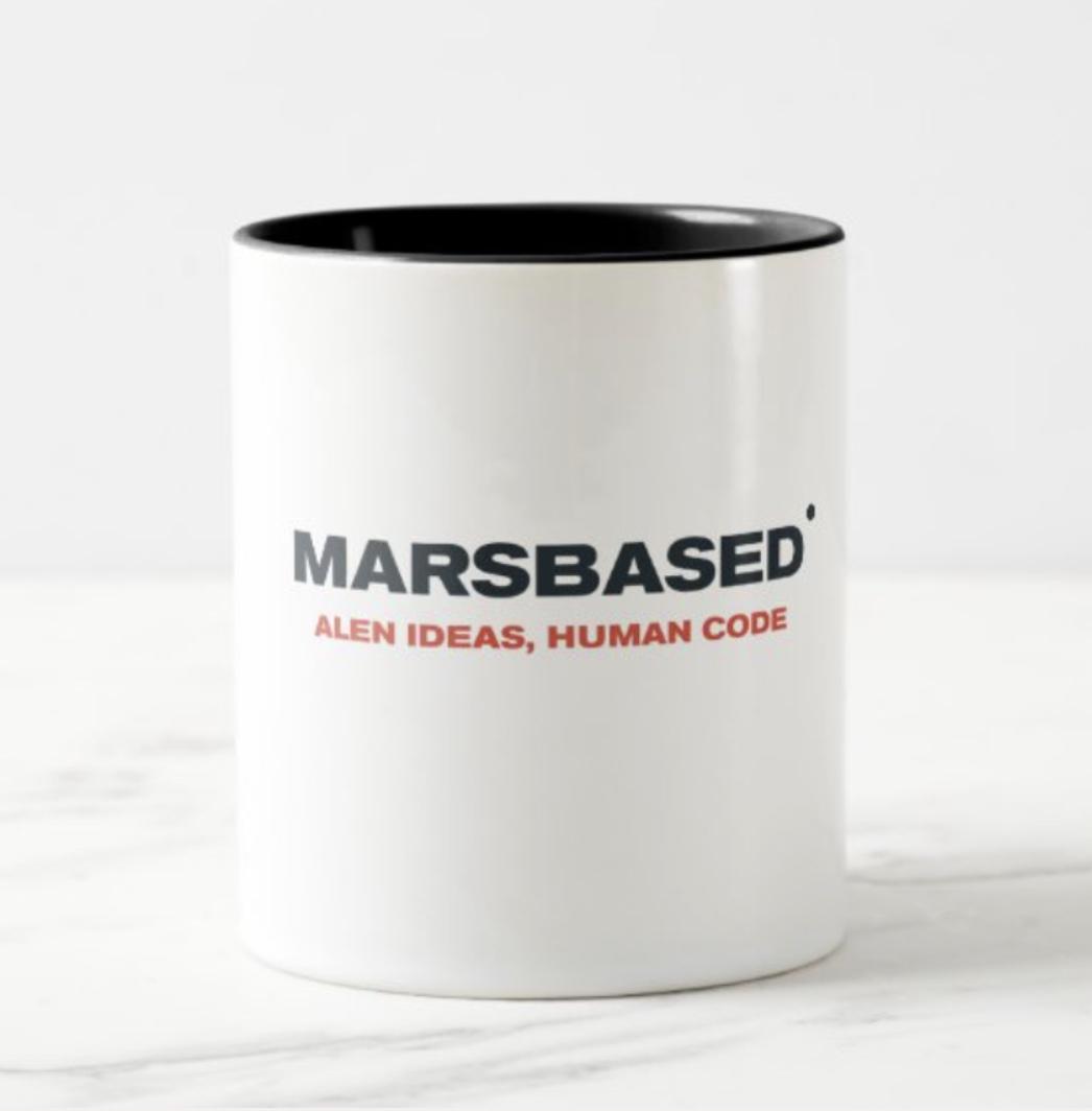 MarsBased coffee mug