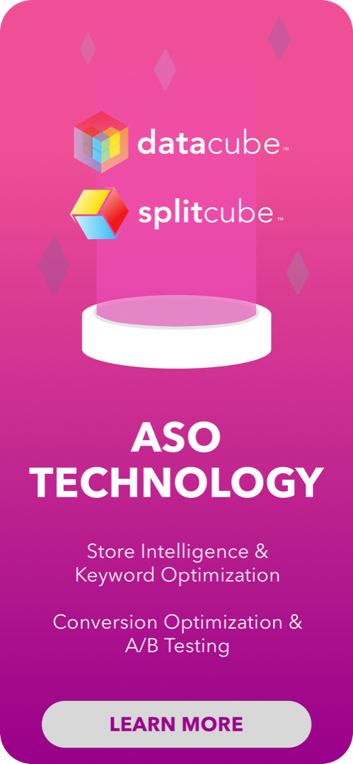 Gummicube leverages machine learning and big data to create the leading Enterprise technologies for ASO.