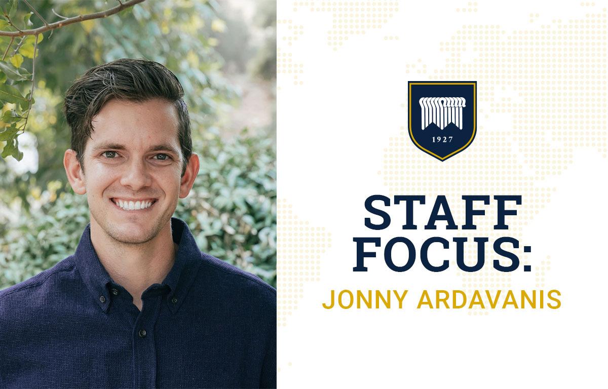 Staff Focus: Jonny Ardavanis image