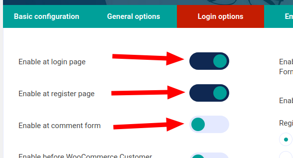 Unikname Connect for WordPress pages configuration