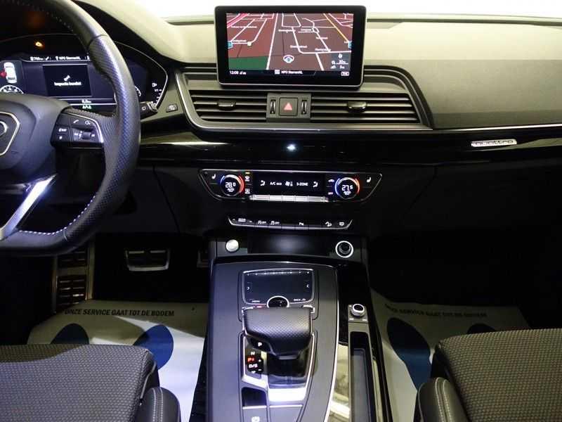 Audi Q5 2.0 TFSI 252pk Quattro [S-Line] Autom- Virtual Cockpit, Leer, B&O, Camera, Xenon Led, Nw model! afbeelding 8