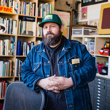 Aaron James Draplin designer Draplin Design Co