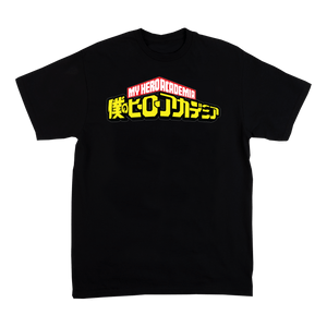 My Hero Academia Crew Neck Short Sleeve T Shirt