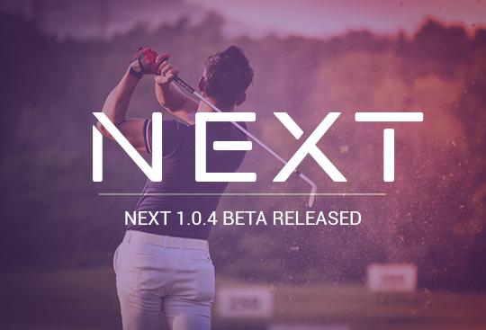 NEXT Wallet Beta 1.0.4 Released