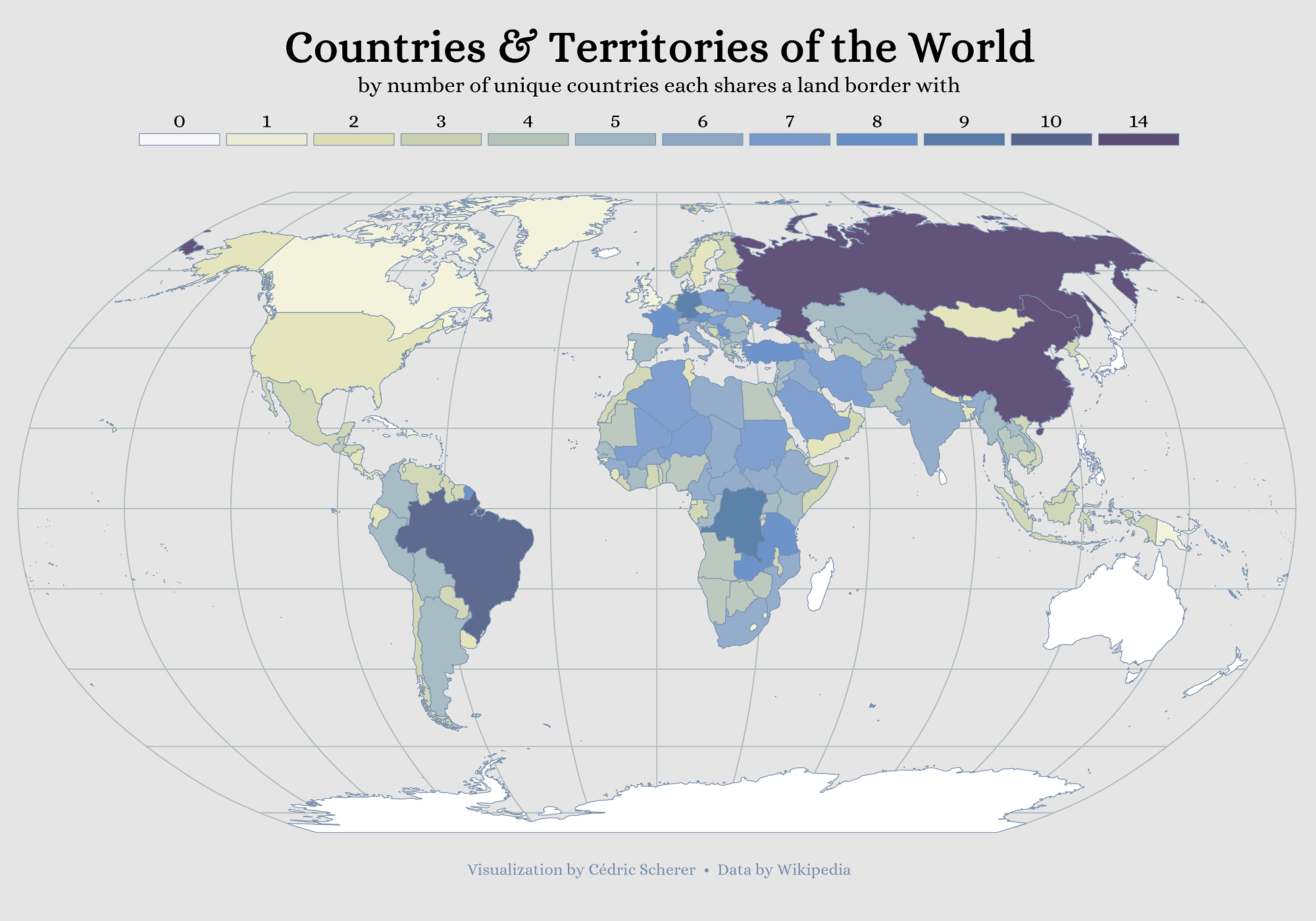 Global Land Borders