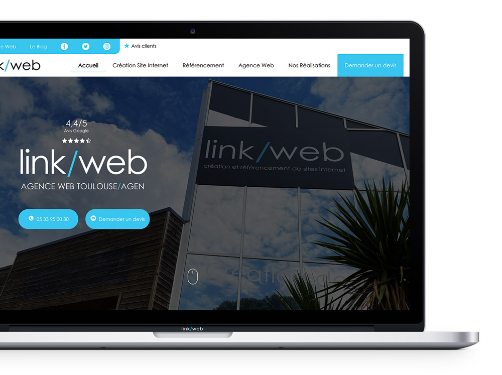 Création site internet Albi