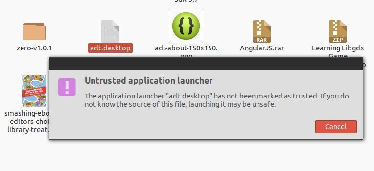Alert adt.desktop