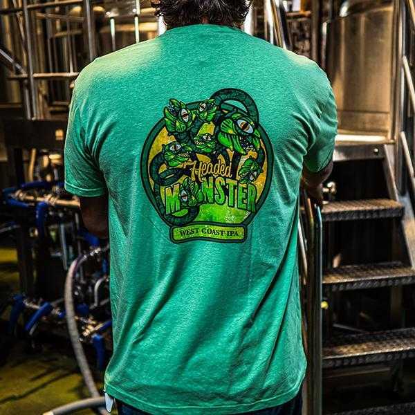 7 Headed Monster T-Shirt